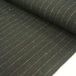Шерсть костюмная черный меланж точки