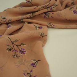 Шифон одри розовая пудра