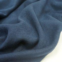 Трикотаж шерсть синий