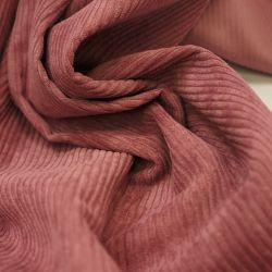 Вельвет светло-розовый крупный